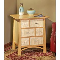 Media-Storage End Table Woodworking Plan from WOOD Magazine