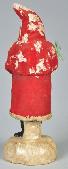 Christmas Santa Belsnickel Candy Container. : Lot 71