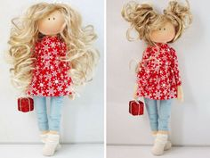 Tilda doll Fabric doll Handmade doll Interior от AnnKirillartPlace