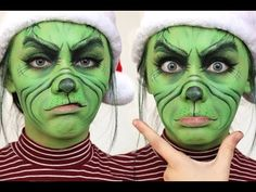 THE GRINCH MAKEUP TUTORIAL CHRISTMAS 2016⎮DANIELLE TARBET - YouTube