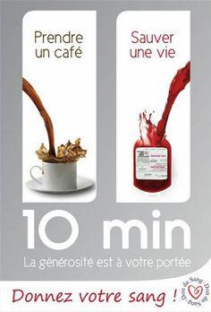 Le don du sang : 10 min au cours d'une vie
