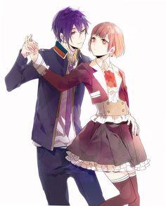 Ritsuka and Shiki   We Heart It   dance with devils, shiki ...