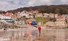 10 of Britain's prettiest seaside villages   Top 10s   The Guardian Essex Beach, Dunstanburgh Castle, South West Coast Path, Seaside Holidays, Seaside Village, Snowdonia, Rock Pools, Great View, The Guardian