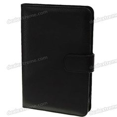 Protective PU Leather Case for Kindle 3 - Black