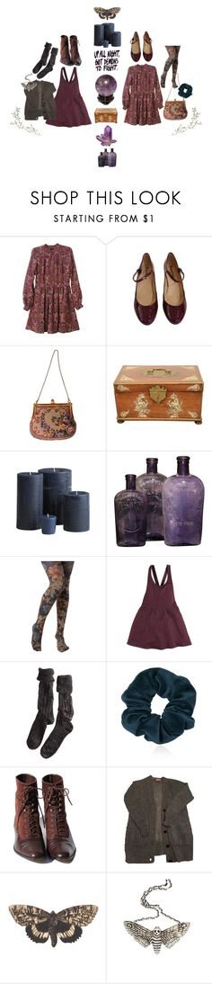 """""""pray to god for no bad dreams."""" by aurenfaie ❤ liked on Polyvore featuring Wren, Repetto, Pier 1 Imports, Look From London, Polder, Topshop, Bena and The Wildness Jewellery"""