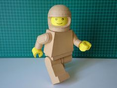 LEGO Minifigure Paper Craft. There is even a template so you van make your own.