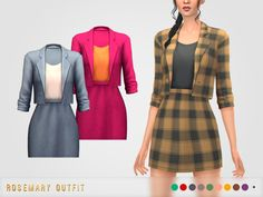 Sims 4 Mm Cc, Sims Four, Sims 4 Mods Clothes, Sims 4 Clothing, Maxis, Sims 4 Dresses, Sims 4 Outfits, The Sims 4 Packs, Sims 4 Collections