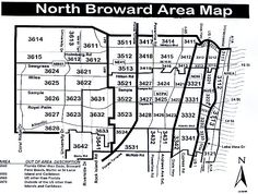 Miami-Dade Zip Code Map | Miami Real Estate Maps and Graphics ...
