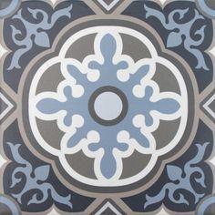 Artisan Deco Otto 200 x 200 | Tile Depot Wall Tiles, Cement Tiles, Project Steps, Tile Layout, Porcelain Tile, Artisan, Deco, Entrance, Pattern