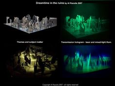 Al Razutis is an educator, innovator, and artist in holographic art and technologies, motion-picture film, and stereoscopic video art. Hologram, Holographic, 3d Video, Art And Technology, Alchemist, Innovation, Artist, Pictures, Design