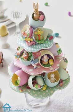 Easter egg tree 4