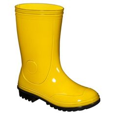 Toddler Solid Rainboot - Yellow.Opens in a new window $19.99