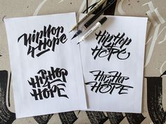 2014 Calligraphy & Lettering Collection on Behance
