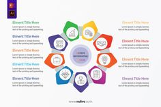 Circle Infographic Template Process wheel with 9 Options best infographic vectors design elements to help you with the presentation of your infographic, very easy to customize. Take a closer look to get started! Circle Infographic, Infographic Templates, Infographics, Circle Arrow, Type Setting, Vector Design, Lorem Ipsum, Get Started, Design Elements