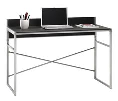 Skrivebord FRESNO sort/metal | JYSK