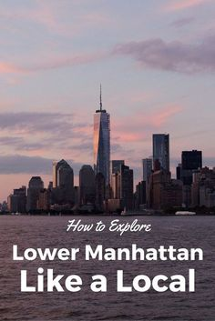 How to Explore Lower Manhattan Like a Local- Planning a trip to NYC? Use this guide to get out of Times' Square and explore Lower Manhattan with this NYC Itinerary! Plus, get a cheat sheet to take with you on you New York City trip. Lower Manhattan, Manhattan Map, Manhattan Restaurants, Manhattan Skyline, Central Park, Empire State Building, Times Square, New York City Travel, Alaska