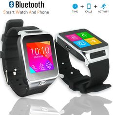 Indigi Unlocked! GSM Multimedia Wireless Bluetooth SmartWatch Phone MP3 Spy Camera FM Radio Pedometer Sleep Tracker (Silver). GSM Unlocked phone that can be used from anywhere across the world. works with any gsm wireless carries in the world such as at&t, t-mobile, straightalk, Orange, Vodafone, you name it. You can stick in your GSM micro SIM-card and you can gain instant access to an amazing communication device that works like a cell phone on your wrist. Connect to your smartphone via...