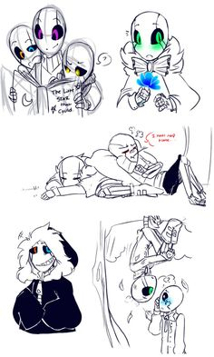 Little Gaster Gang and some... by Bunnymuse.deviantart.com on @DeviantArt