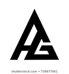 Find ag logo stock images in HD and millions of other royalty-free stock photos, illustrations and vectors in the Shutterstock collection. Typo Logo Design, Logo Design Love, Graphic Design Flyer, Minimal Logo Design, Logo Design Inspiration, Web Design, Photography Logo Design, Initials Logo, Geometric Logo