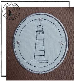 Je vous propose aujourd'hui ce nouveau phare qui complète la série d'étiquettes sur le thème de la mer. link N'hésitez pas à m'envoyer des photos de vos réalisations made in cocotte. Bon lundi & bonne broderie.