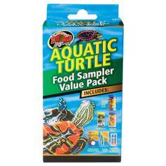 Zoo Med Aquatic Turtle Food Sampler Value Pack  - PetSmart