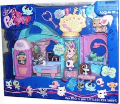 Littlest Pet Shop Get Better Center Playset with Stethoscope, Notepad, Water Bottle, Syringe Pump Plus 3 Exclusive Pets - Light Brown Persian Cat (#490), German Shepherd with Cast (#491) and Gecko with Spot that Can Dissapear (#492) by Hasbro. $79.99
