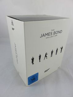 The James Bond Collection 23 Filme Blu-Ray BOX Edition