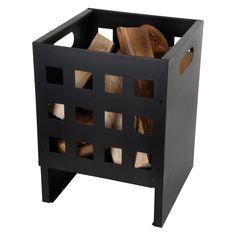 Have to have it. Esschert Design Square Basket Fire Pit $79.99