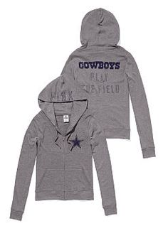 a9d5f38135e4 Dallas Cowboys Zip Hoodie Dallas Cowboys Nails