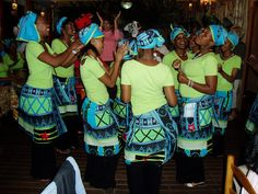 Cafe Afrika Dancers @ Kristi Folk South Africa trip