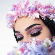 "6,957 Likes, 53 Comments - Aylin Aktaş (@thecutestberry) on Instagram: ""'Wish we could be like that, cuz i'm yours' 💜 #eotd @sarazaarcosmetics Euphoria glitter, glitter…"""