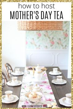Celebrate the holiday with a fancy Mother's day tea party. Here's how to set it up and everything you need for a memorable party. day dinner for a crowd How To Host Mother's Day Tea Party Easy Diy Gifts, Homemade Gifts, Mothers Day Dinner, Easy Cocktails, Drinks, Homemade Playdough, Tea Cakes, Appetizers For Party, Perfect Party