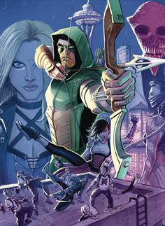 Green Arrow Rebirth Issue 1 The DC Comics Rebirth: A Complete Guide For New Readers