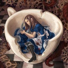 [2] Рисунки участников – 1 076 фотографий | ВКонтакте Dark Alice In Wonderland, Adventures In Wonderland, Le Terrier, Creepypasta Girls, Go Ask Alice, Alice Liddell, Alice Madness Returns, Beautiful Book Covers, Were All Mad Here