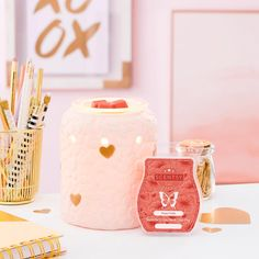 Get 10% all month long on your fave Scentsy warmers, fragrances, bath bombs, and more! Click to view the Warmer & Scent of the month and start exploring the savings! #femininehomedecor #homedecor #homeofficedecor #pinkdecor #aromatherapy
