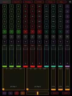 TouchOSC [★★★★☆] $4.99, the whole reason I got an iPad.