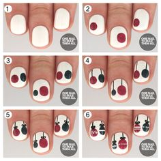 Tutorial Tuesday: Christmas Baubles for Barry M (via Bloglovin.com )