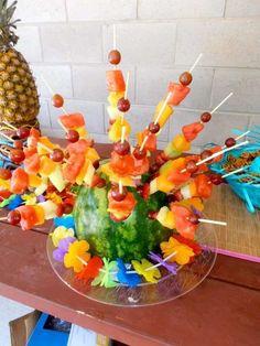Luau Birthday Party Ideas | Photo 8 of 26 | Catch My Party