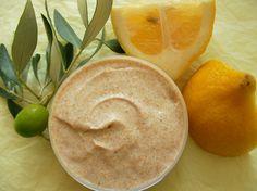 Crème de gommage gourmande et purifiante au citron