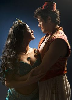 Wish Come True! Get a First Look at Courtney Reed, Adam Jacobs & the Cast of Aladdin in Costume