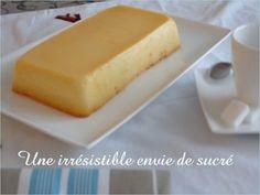 Flan magique à la noix de coco Cheesecake, Dairy, Dishes, Desserts, Food, Coconut Custard, Sugar Cravings, Healthy Eating Recipes, Sweet Recipes