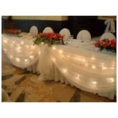 Tulle Fabric   How to Use Tulle   Wedding Tulle Gallery   Decorating Ideas