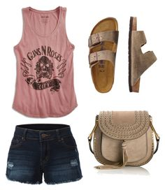 Untitled #101 by klmoore752 on Polyvore featuring polyvore, fashion, style, Lucky Brand, LE3NO, TravelSmith, Chloé and clothing