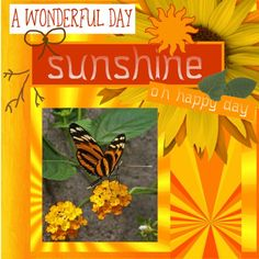 Aug.2016 - Happy day Here my lo's made with the loving blogtrain freebie HSA_MorningSunshine  thanks Eileen. pict. made by my friend Sake free to use. thanks Sake shop link to grab the freebie on Wilma4Ever - http://wilma4ever.com/index.php…