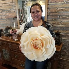 The massive and beautiful rose by Annie Rose, The Crafty Sagittarius