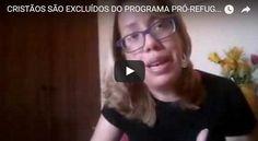 """CRISTÃOS SÃO EXCLUÍDOS DO PROGRAMA PRÓ-REFUGIADOS – QUESTÕES """"HUMANITÁRIAS"""" – ANDRÉA FERNANDES – RedeBrasil.NET"""