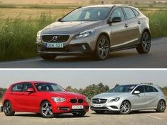 Volvo V40 Cross Country vs Mercedes-Benz A-Class vs BMW 1 Series Petrol Spec Comparison Review Page -1  ZigWheels.com