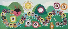 Bilderesultater for tablo predškolákov Kindergarten Graduation, Kindergarten Crafts, Preschool Activities, Classroom Wall Decor, Classroom Walls, Creative Crafts, Diy And Crafts, Crafts For Kids, Circle Time Activities