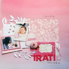 Monochromatic/Stencil or Masked Background @kari alissa Peas in a Bucket