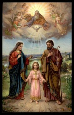 Jesus And Mary Pictures, Catholic Pictures, Pictures Of Jesus Christ, Religious Images, Religious Art, Catholic Art, Catholic Saints, Jesus Mary And Joseph, Saint Joseph